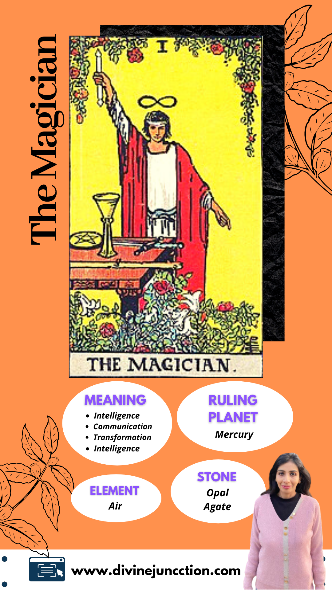 The Magician Tarot Card Number 20 – Your Guide To Know It All ...